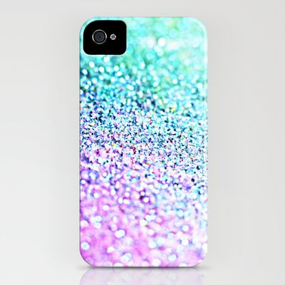 Little Mermaid Pastel Ombre Glitter iPhone Case' Cool with outfit