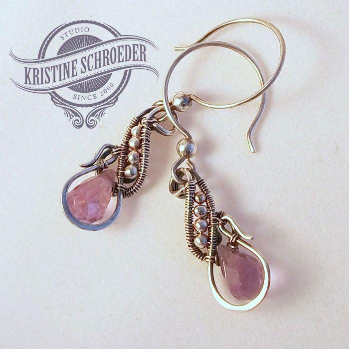 27 best Earrings by Kristine Schroeder Studio images on Pinterest ...