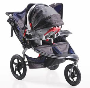 Looks like an amazing double jogging stroller!