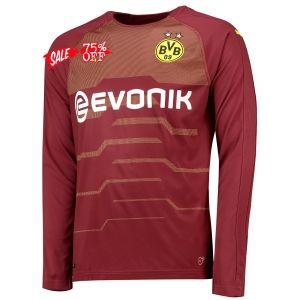 8bd05c0b2 2018-19 Cheap Goalie Jersey Borussia Dortmund Home LS Replica Soccer Shirt   DFC47