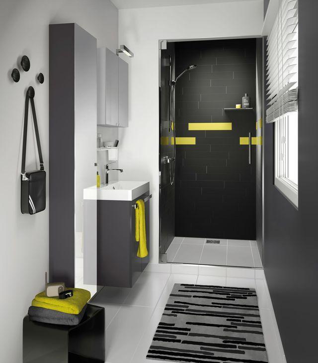 Die besten 25+ Salle de bain 3m2 Ideen nur auf Pinterest | Ein ...