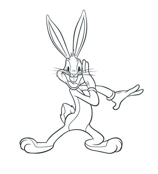looney tunes coloring pages bugs bunny - 21 best images about looney tunes on pinterest