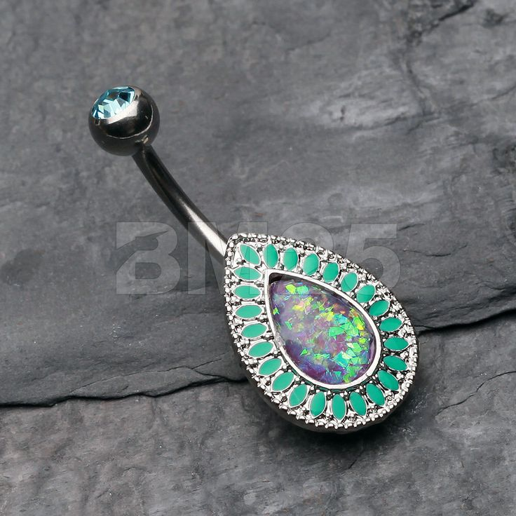 Classic Chakra Opal Belly Button Ring by BM25Jewelry on Etsy https://www.etsy.com/listing/238918545/classic-chakra-opal-belly-button-ring