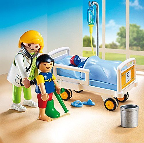Amazon.com: PLAYMOBIL Doctor with Child Playset: Toys & Games  $10.76