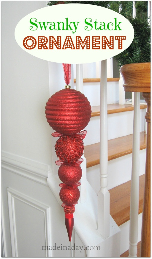 Swanky Stack Ornament