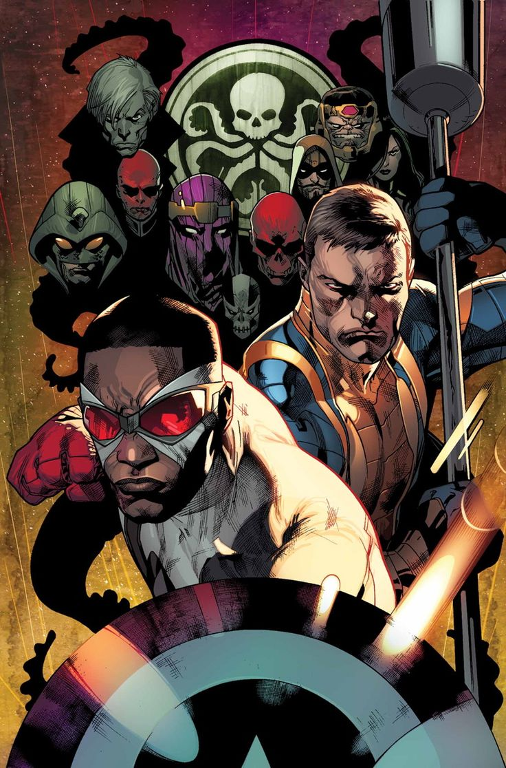 ALL-NEW CAPTAIN AMERICA #2 RICK REMENDER (W) • STUART IMMONEN (A/C) VARIANT COVER BY TIM SALE • The new Hydra has formed, comprised of the most ruthless villains of the Marvel Universe as the great infiltration continues! • Cap uncovers the ultimate goal of the new Hydra but is it too late to stop them? • Cap and Nomad's new partnership is put to the ultimate test as they race to uncover The Sect of the Unknown! 32 PGS./Rated T+ …$3.99