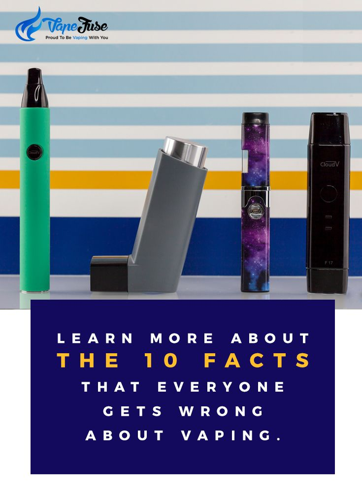 The 10 Facts That Everyone Gets Wrong About Vaping.Check This Out