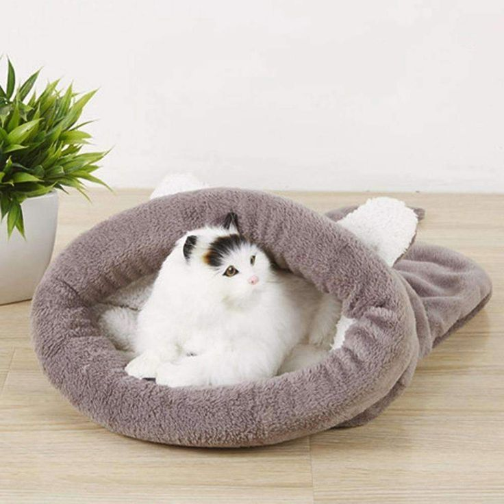 Slouchy Soft Cat Sleeping Bag