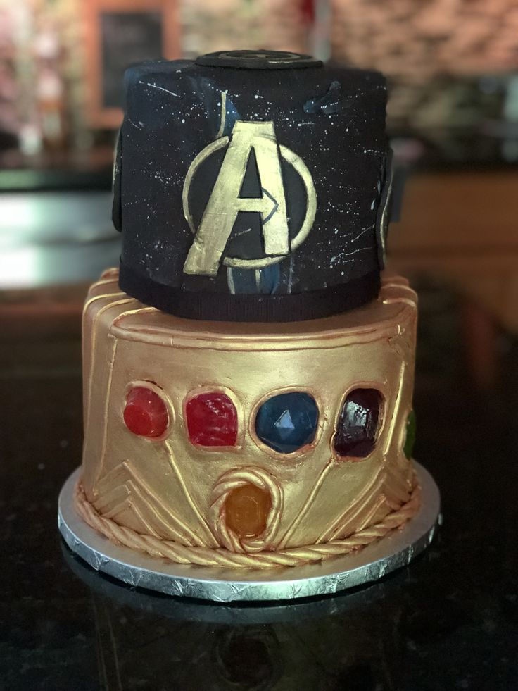 Infinity Wars Cake By Decorated Dreams Marvel Cake Thor