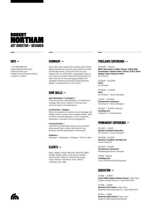 38 best Arts Resume Portfolio list images on Pinterest Artist - free html resume templates