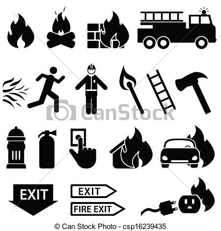 Fire safety Stock Illustrations. 11,150 Fire safety clip art ...