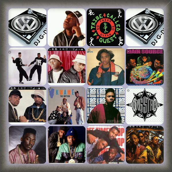 Some of the Finest Hip Hop from the 80's & 90's  : N'Joy!!