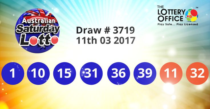 Australian Saturday #Lotto winning numbers results are here. Next Jackpot: $4 million #lottery #loteria #LotteryResults #LotteryOffice