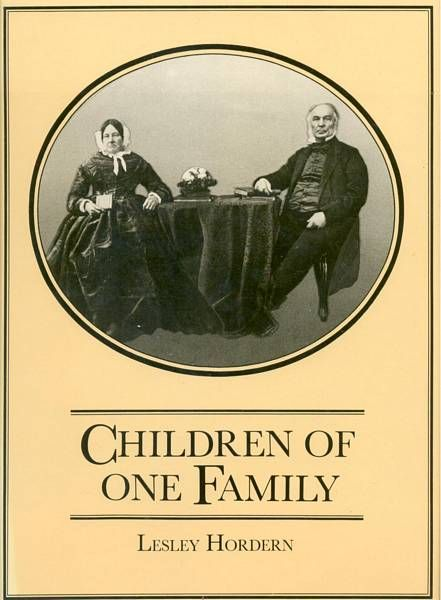 Children of One Family The Story of Anthony and Ann Hordern and Their Descendants in Australia 1825 - 1925 Sydney, Retford Press, 1985.