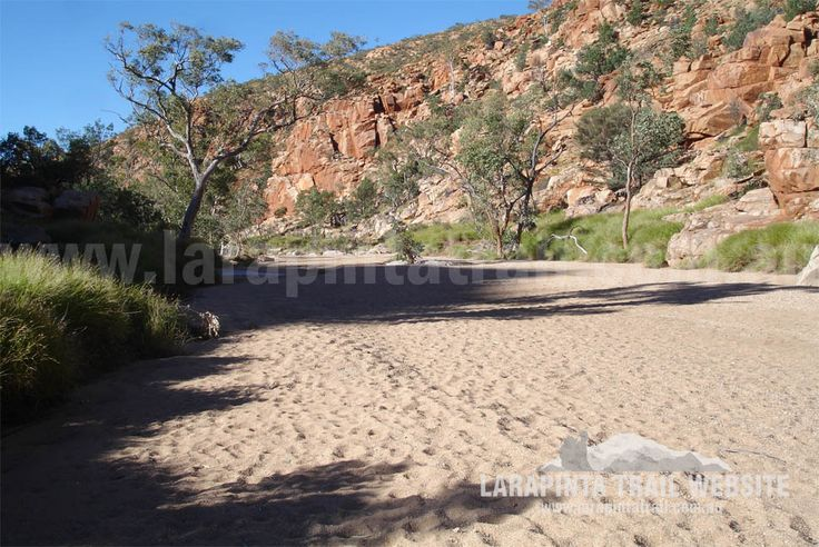 Some parts along Section 3, require walking along creek beds and narrow gorges. Most of the time they are dry, but occasionally, they are flooded or full of cold water. © Explorers Australia Pty Ltd 2013