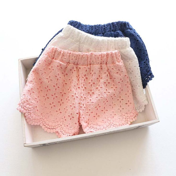 Princess Lace Baby girls shorts Summer Spring 2016 children shorts kids shorts for girls clothes toddler girl clothing