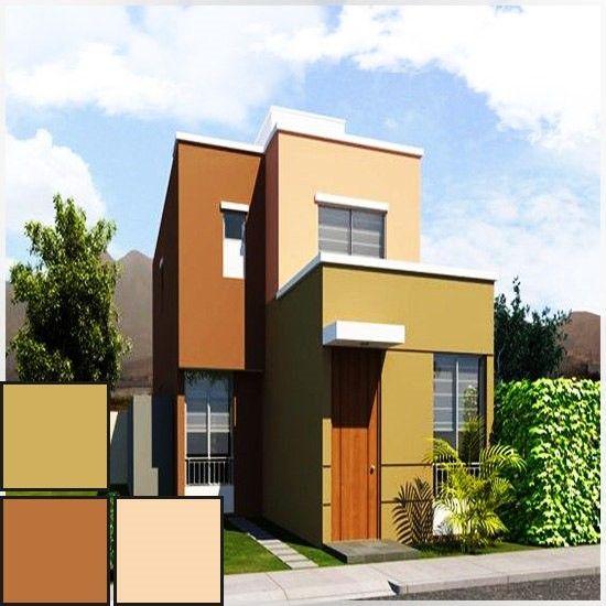 Combinaciones de colores para casas exterior 550 for Colores para fachadas