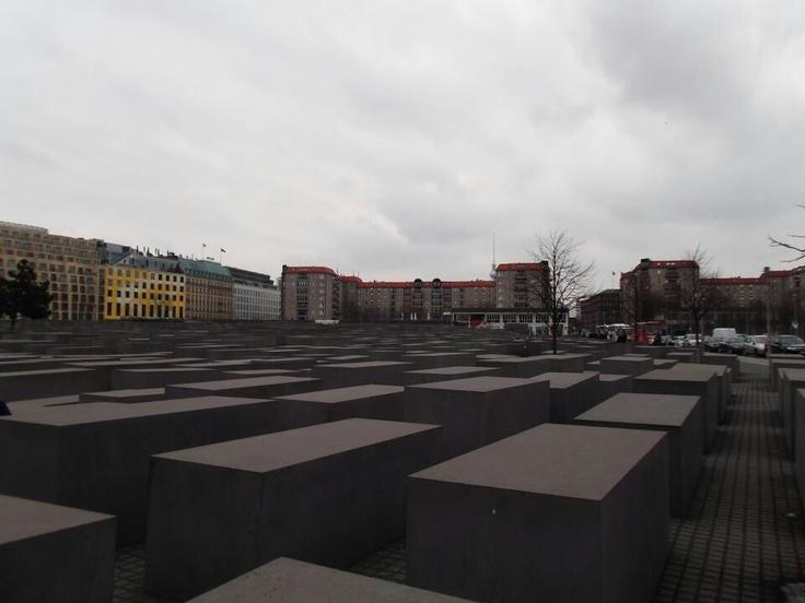 #Holocaust Memorial, #Berlin, Germany.
