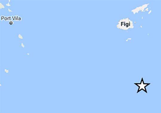 Cinquew News: Terremoto alle Isole Figi 14 gennaio 2017, scossa ...