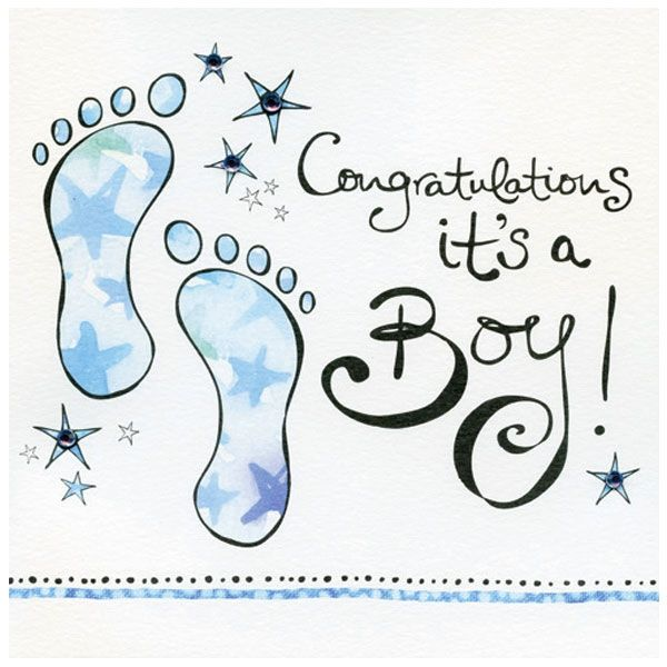 CONGRATULATIONS ITS A BOY Gallery Collection Congratulations It\u0027s