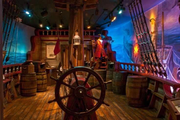Old Real Pirate Ships | St. Augustine is a Pirate's Paradise - St. Augustine Today