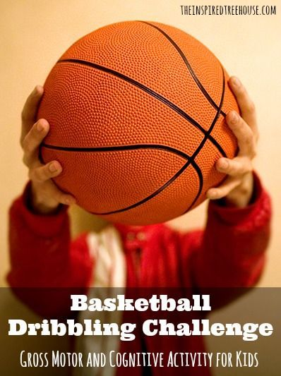 Learning to dribble a basketball is one of the rites of passage on an elementary playground.  Help your child learn the skill of dribbling with these fun suggestions that have them practicing academic skills too!