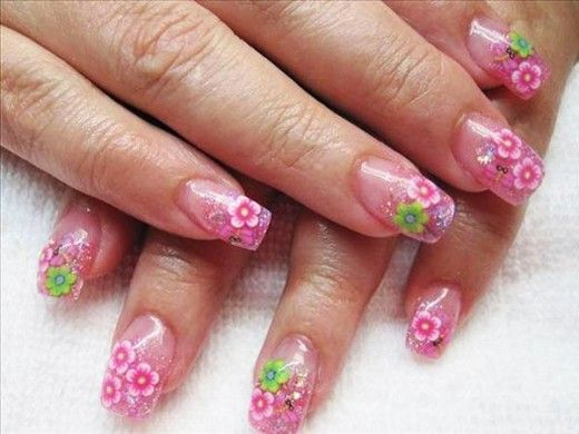 Easy Flower Nail Designs To Do At Home Best Design Ideas