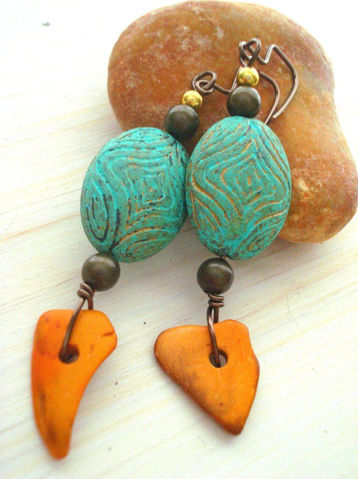 Boho Chic Earrings - Boho Style - African Earrings