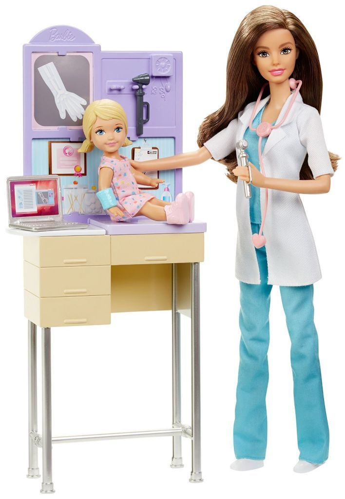 Barbie Careers Pediatrician Playset Barbie 2015 2018