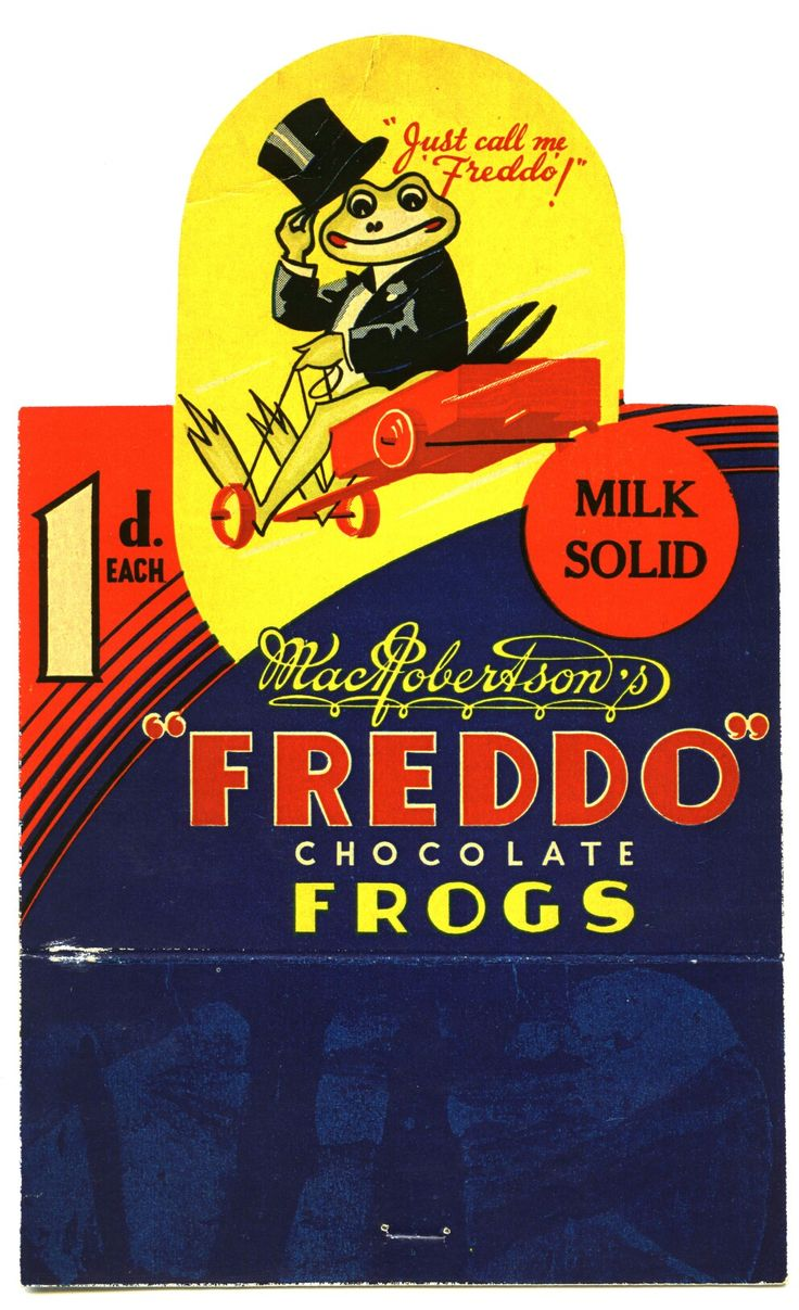 I am too young to remember this, but I love it...Go Freddo Go!