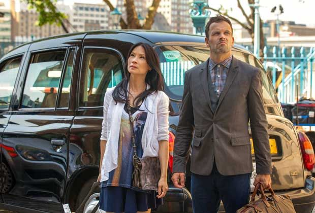 First look! Jonny Lee Miller and Lucy Liu in Elementary series two   Radio Times