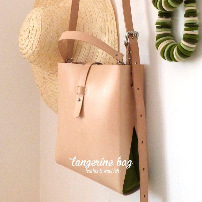 tangerine [M] bag · http://marieladias.tictail.com