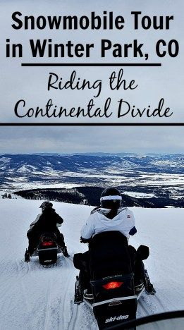 Looking for an exhilarating winter activity in Colorado? Try a snowmobile tour in Winter Park for an unforgettable experience riding the Continental Divide.