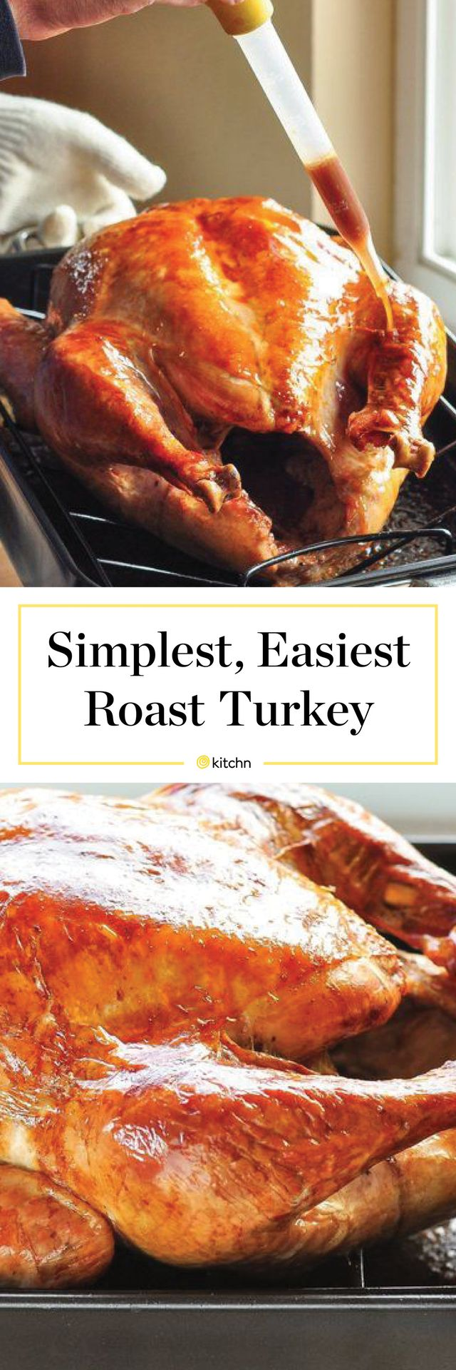 How To Cook A Turkey - Easy Whole Roast Turkey Recipe. The BEST simple roasted turkey recipes don't call for brines or finicky rubs. You don't even need any herbs! Just some butter, seasonings, and chicken stock ensure moist, tender, juicy results with little fuss. Works great with small or big birds.