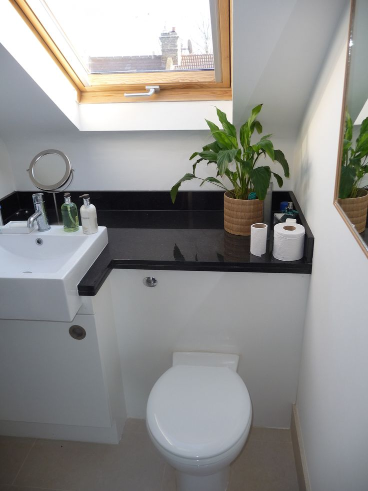 Best 25 small attic bathroom ideas on pinterest attic for Small ensuite bathroom ideas