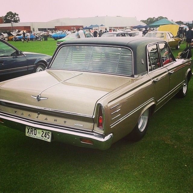 VC Chrysler Valiant - one of the kind that was called a Marrickville Mercedes
