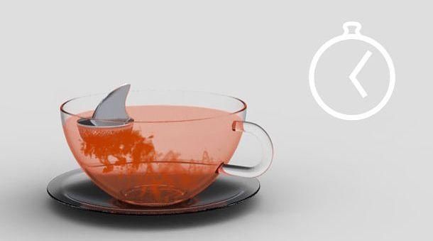 Köpek balığı çay süzgeci 2