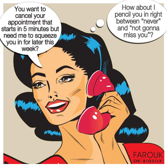 Things you may think but don't say... #hairstylists #cosmetology #humor
