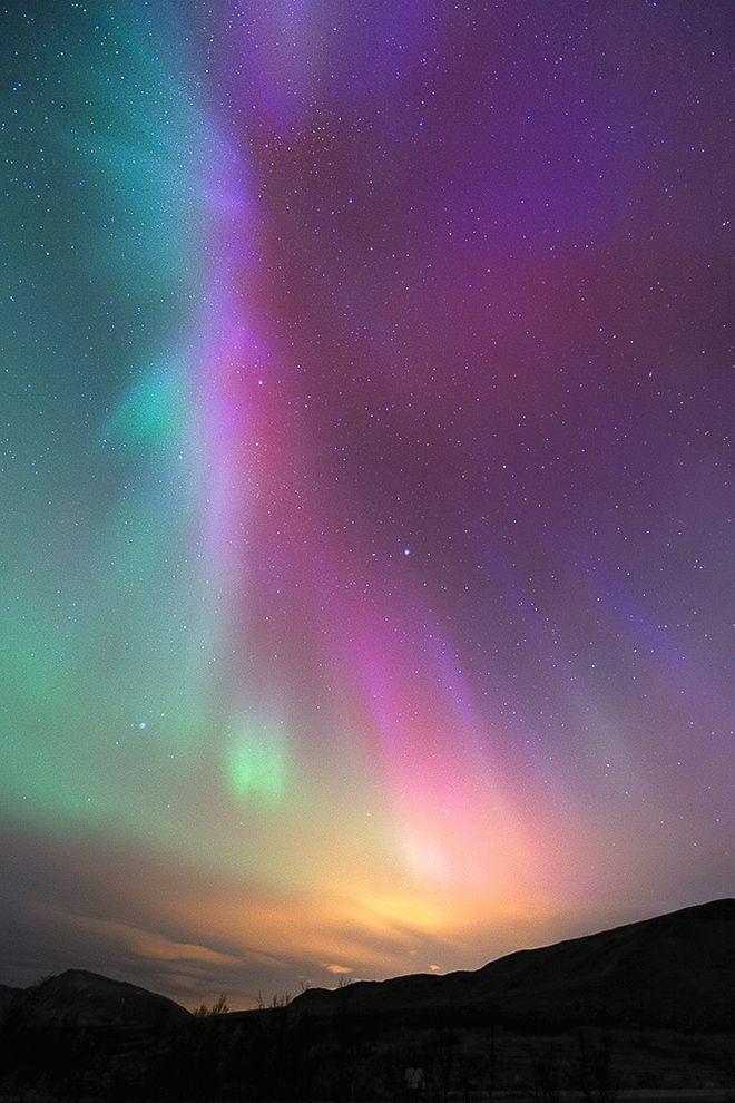 Rainbow Aurora - Tromsø, Norway