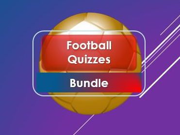 Tutor Time: Football Quizzes and Games Bundle