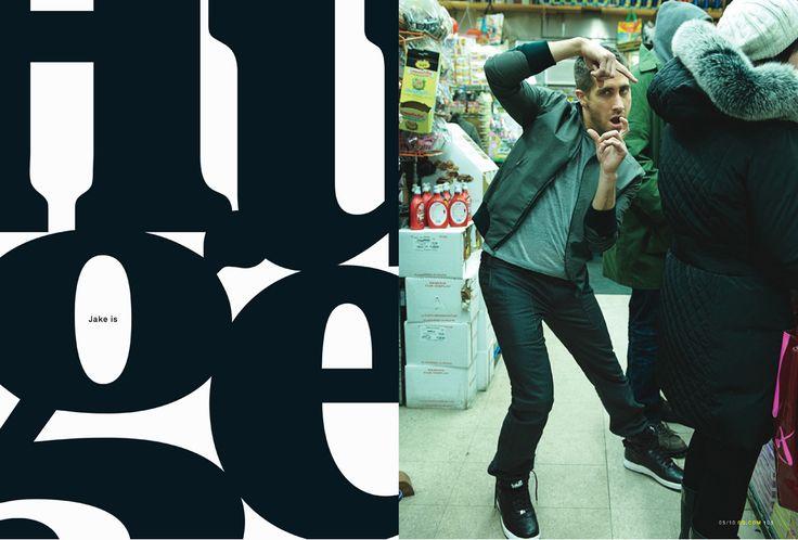 print design / layout   GQ Magazine, Fred Woodward - Design Director