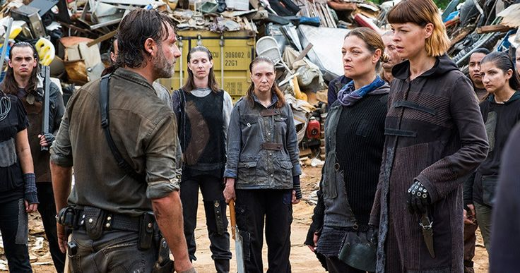 Walking Dead Episode 8.6 Recap: The King, The Widow, and Rick -- Michonne returns, three communities struggle to respond to the Savior assault and Jadis and the junkyarders have Rick in the latest episode of The Walking Dead. -- http://tvweb.com/walking-dead-season-8-episode-6-recap/