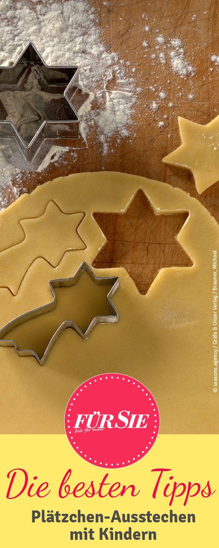 In der Adventszeit kommt man um das Backen von Keksen einfach nicht herum. Wir geben Dir Tipps für ein entspanntes Plätzchen-Ausstechen mit Kindern.