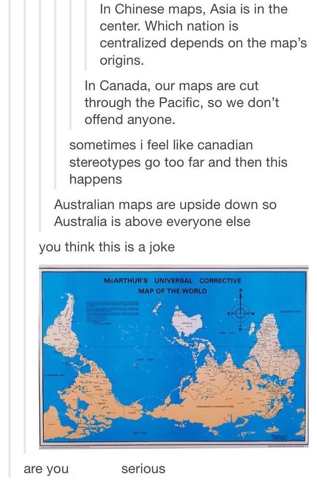 Map Of Australia Joke.I Ve Never Seen A Map With Australia Like That And I Am Aussie