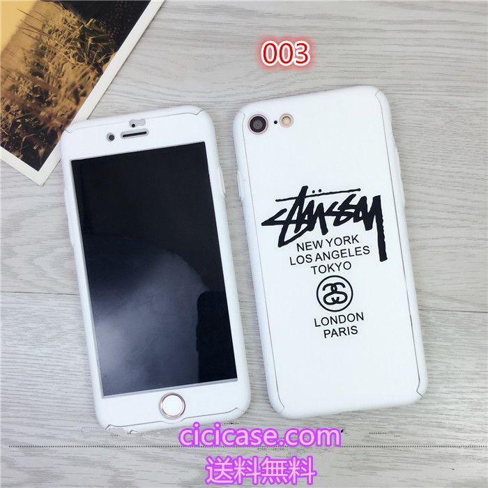 ブランド ステューシー アイフォン7 ソフトケース 個性stussy iphone 6s 7 カバー おしゃれ 芸能人