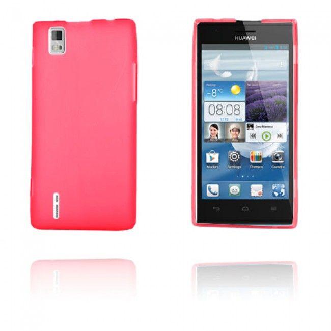 GelCase (Punainen) Huawei Ascend P2 Suojakuori - http://lux-case.fi/gelcase-punainen-huawei-ascend-p2-suojakuori.html