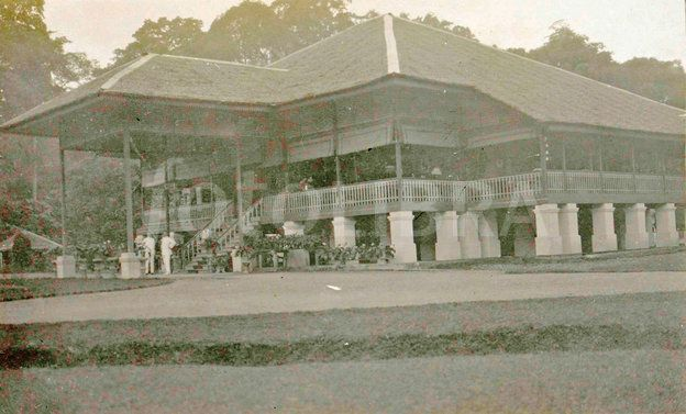 Dutch East Indies, indonesia, Namoe - Trassi house, Anonymous, 1900 - 1920