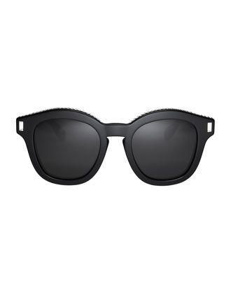 b4f0442bc9 Swarovski Crystal Embellished Wayfarer Sunglasses