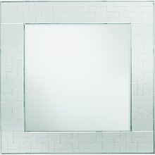 Charge It by Jay Mosaic Glass Mirror Square Charger Plate 1331004