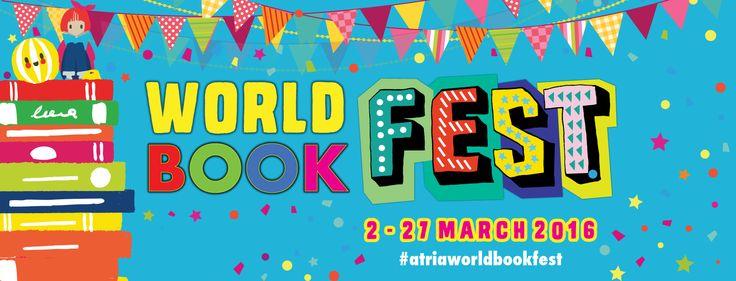 2-27 Mar 2016: Atria World Book Fest